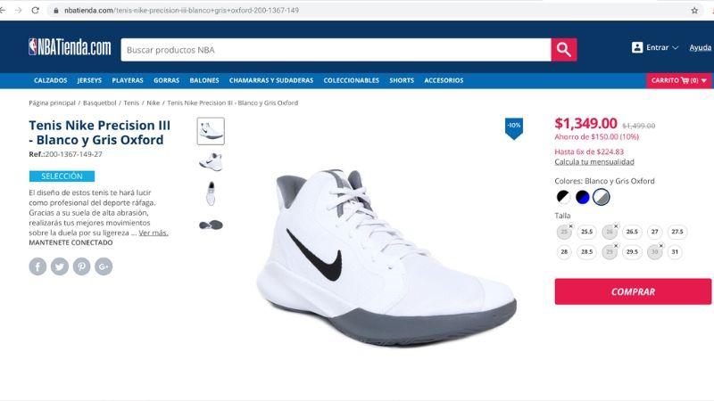 pagos a plazos NBA productos